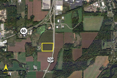 St. Joseph County Residential Lots & Land For Sale: Us 131 Highway #10.90
