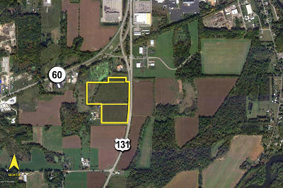 St. Joseph County Residential Lots & Land For Sale: Us 131 Highway #32.29