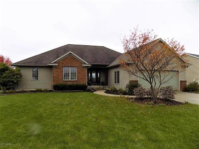 Hudsonville Single Family Home For Sale: 3457 Jamieson Drive