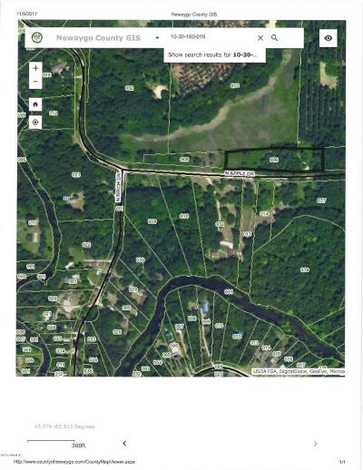 Newaygo County Residential Lots & Land For Sale: N Apple Drive