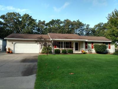 Muskegon Single Family Home For Sale: 63 Starling Drive