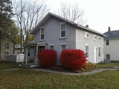 Hillsdale MI Single Family Home For Sale: $58,900