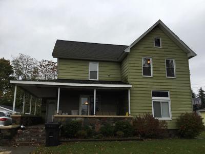Hillsdale Single Family Home For Sale: 211 E South Street