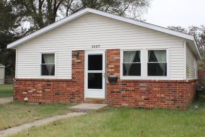 Muskegon Single Family Home For Sale: 1367 Roberts Street