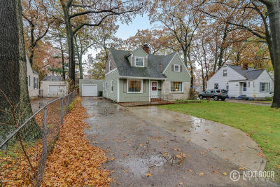 Muskegon Single Family Home For Sale: 1433 Beardsley Avenue