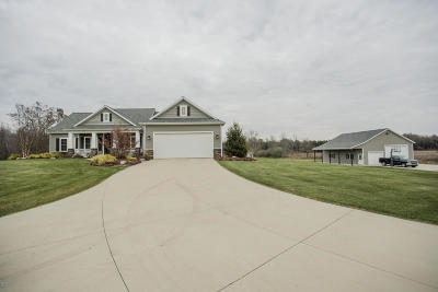 Hudsonville MI Single Family Home For Sale: $675,000