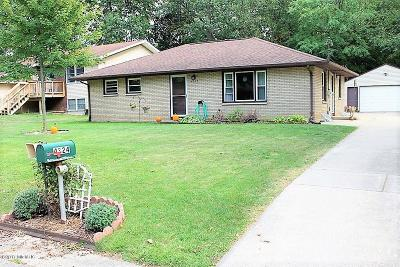 Portage Single Family Home For Sale: 4324 Fireside Avenue