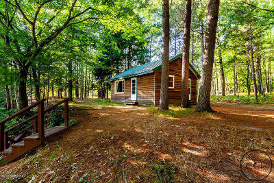 Manistee County Single Family Home For Sale: 7799 Pomeroy Springs Road