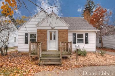 Grand Rapids Single Family Home For Sale: 1512 Leonard Street NE