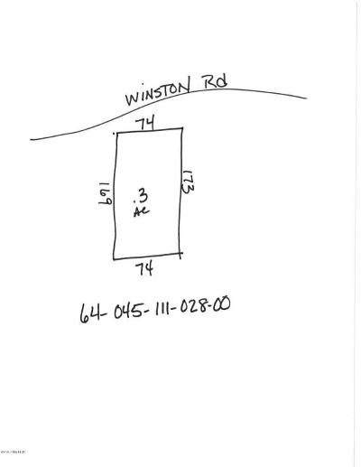 Oceana County Residential Lots & Land For Sale: Winston Road
