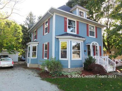 Caledonia Single Family Home For Sale: 213 Johnson Street SE