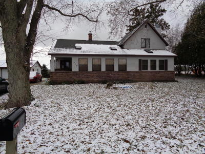 Hersey Single Family Home For Sale: 608 E 4th Street