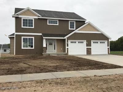 Middleville Single Family Home For Sale: Lot 5 Algen Drive