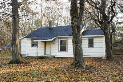 Allegan Single Family Home For Sale: 1243 Wells Road