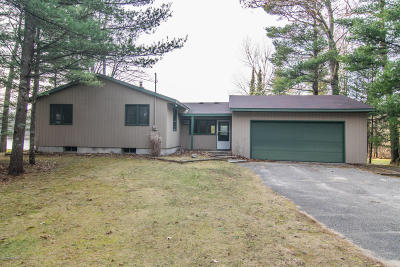 Isabella County, Mecosta County, Montcalm County, Newaygo County, Osceola County Single Family Home For Sale: 7579 N Centerline Road