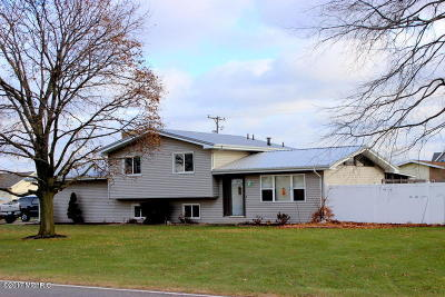 Coldwater MI Single Family Home For Sale: $169,900