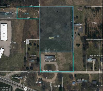 Allegan County Residential Lots & Land For Sale: Vl 2565 111th Avenue