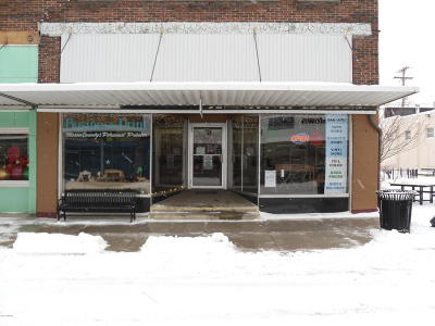 Scottville Commercial For Sale: 118 S Main Street