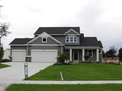 Hudsonville Single Family Home For Sale: 6345 Eaglewood Drive