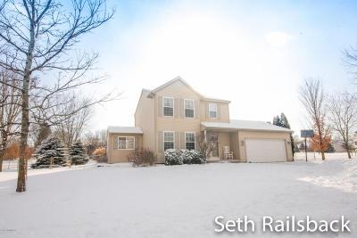 Sparta MI Single Family Home For Sale: $232,500