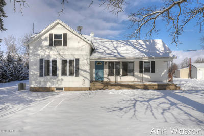 Newaygo County Single Family Home For Sale: 5479 W 80th Street