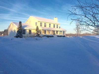 Berrien Springs Single Family Home For Sale: 2201 E Shawnee Road
