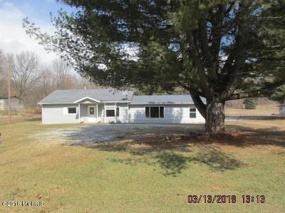 Delton Single Family Home For Sale: 10054 Keller Road