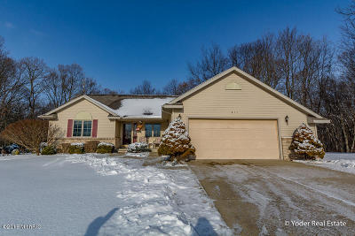 Belding Single Family Home For Sale: 811 Bradford Drive
