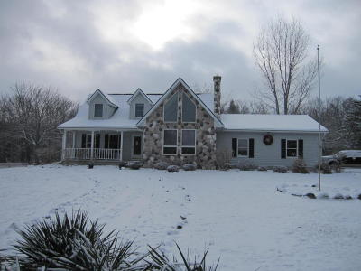Lyons MI Single Family Home For Sale: $537,000