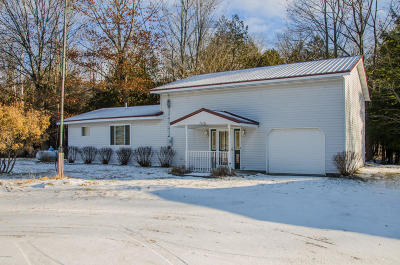 Mecosta County Single Family Home For Sale: 21434 30th