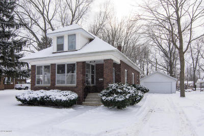 Niles MI Single Family Home For Sale: $89,900