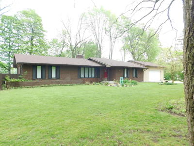 Cassopolis Single Family Home For Sale: 61606 Sherman Lane