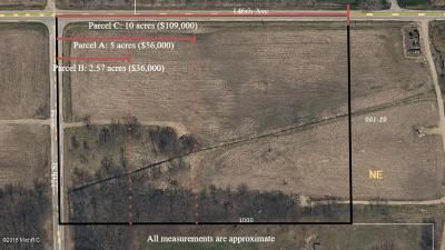 Byron Center Residential Lots & Land For Sale: Par C 2630 146th Ave