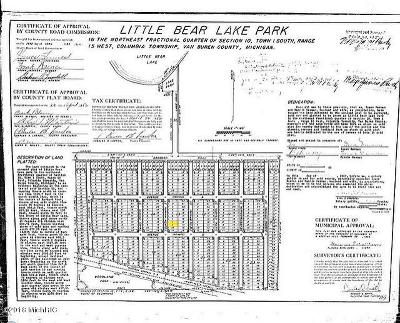 Van Buren County Residential Lots & Land For Sale: Cr 388 #Lot 20 b