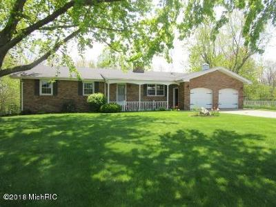 Berrien County Single Family Home For Sale: 4930 Fikes Road