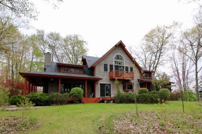 Kalamazoo County Single Family Home For Sale: 10336 Paw Paw Lake Drive