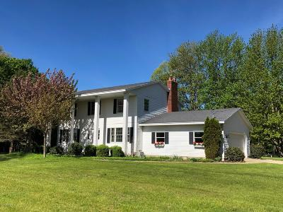 Allegan County Single Family Home For Sale: 1000 Blue Star Highway