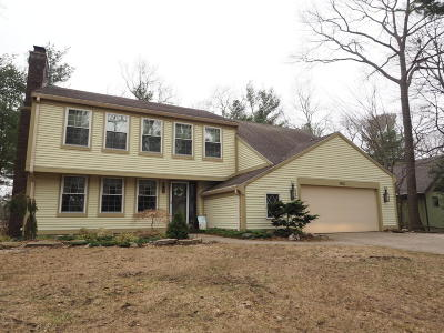 Muskegon Single Family Home For Sale: 1543 Brookwood Drive