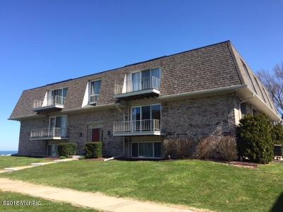 St. Joseph Condo/Townhouse For Sale: 3612 Lakeshore Drive #D-7