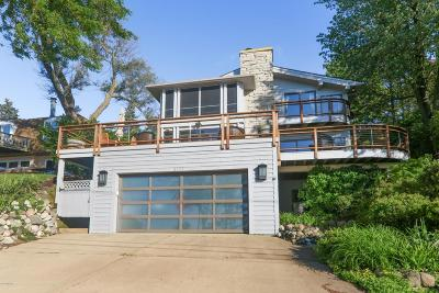 New Buffalo Single Family Home For Sale: 3777 Lake Shore Drive