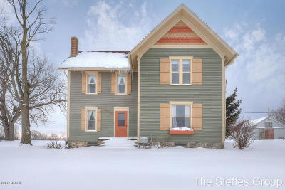 Allegan County Single Family Home For Sale: 3248 144th