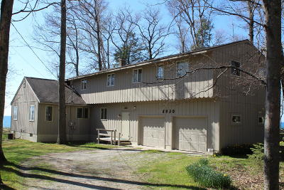 Manistee County Single Family Home For Sale: 5930 Lakeshore Rd