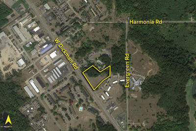 Calhoun County Residential Lots & Land For Sale: 4250 W Dickman Road