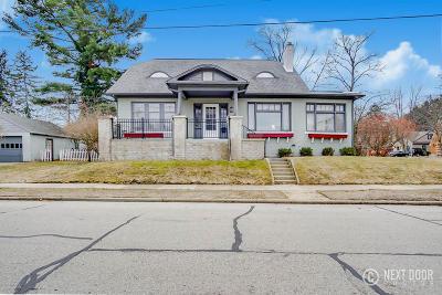 Grand Haven, Spring Lake Single Family Home For Sale: 1000 Sheldon Road