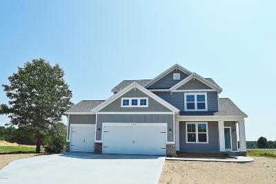 Muskegon Single Family Home For Sale: 2075 Poplar Court #Lot 38