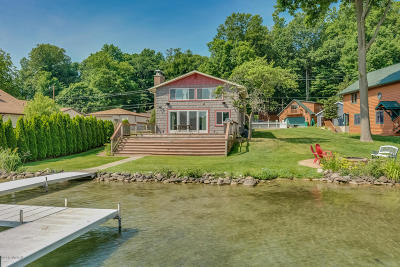 Cass County Single Family Home For Sale: 14886 Lake Shore Drive