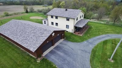 Branch County, Hillsdale County Single Family Home For Sale: 8800 Blount Road