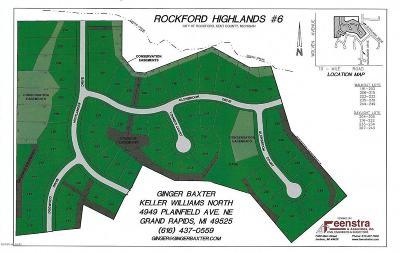 Rockford Residential Lots & Land For Sale: 285 Glenbrook Dr #lot 197