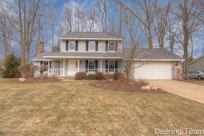 Hudsonville Single Family Home For Sale: 7181 Gettysburg Drive
