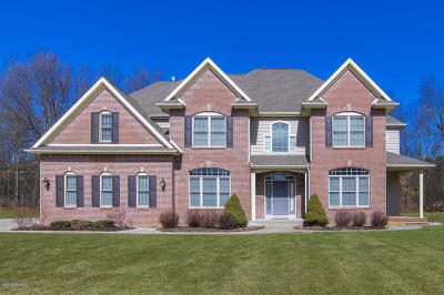 Kalamazoo Single Family Home For Sale: 5206 Queen Victoria Lane